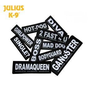 Labels for Dog Harnesses
