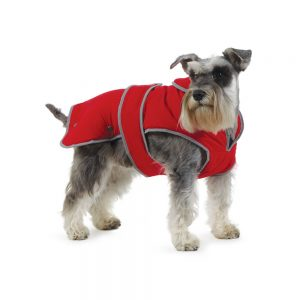 Ancol-Muddy-Paws-Dog Coat-Red-980149